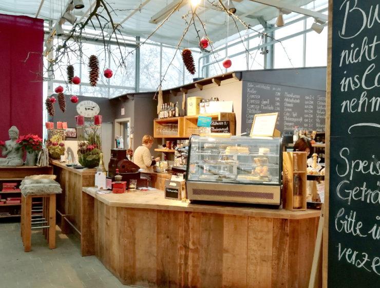 Gartencenter Café Huben Theke